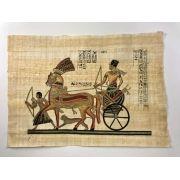 Papiro Egípcio original com temas Faraônicos – Ref.94