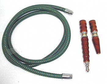 Mangueira de couro longa rosqueável da marca YAHYA -cod.457