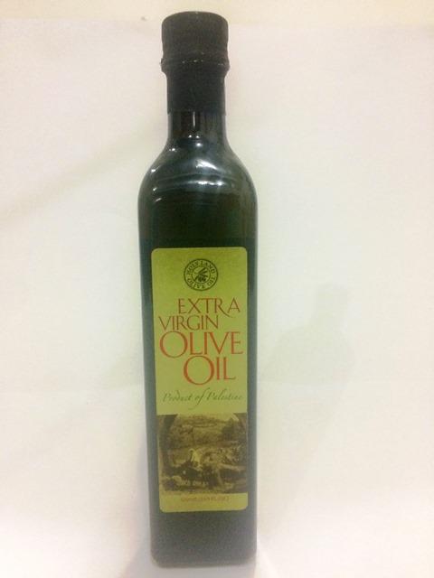 Azeite de Oliva Extra Virgem da Palestina. 500ml - PRODUTO SOLIDÁRIO (cod.907)