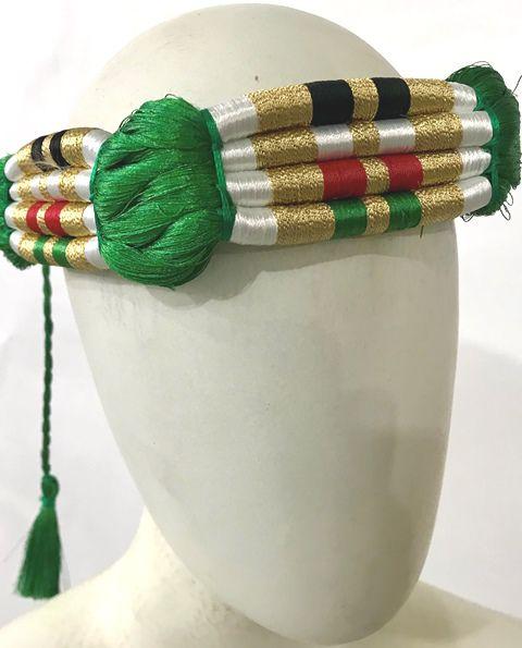 Cordão para turbante colorido (ikal, agal) Ref.519