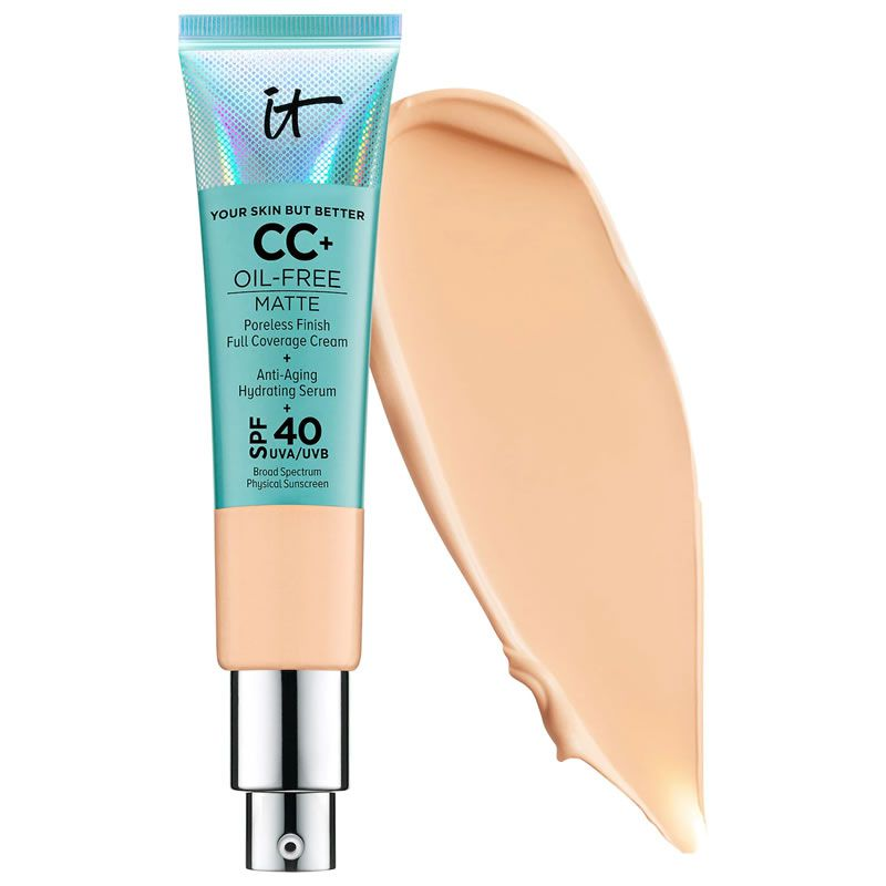 IT Cosmetics CC Cream  Your Skin But Better Oil Free Matte cor Medium Tan - 32ml