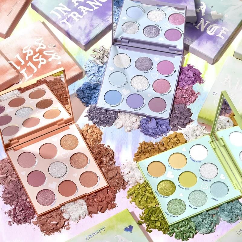 ColourPop Cloud Dye Shadow Palette Vault