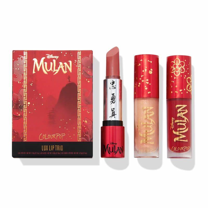ColourPop Disney x Mulan Kit Honor to Us All