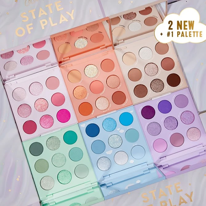 Colourpop State Of Play Shadow Palette Vault