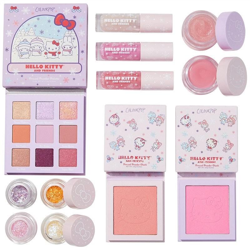 ColourPop x Hello Kitty Snow Much Fun Full Collection Set