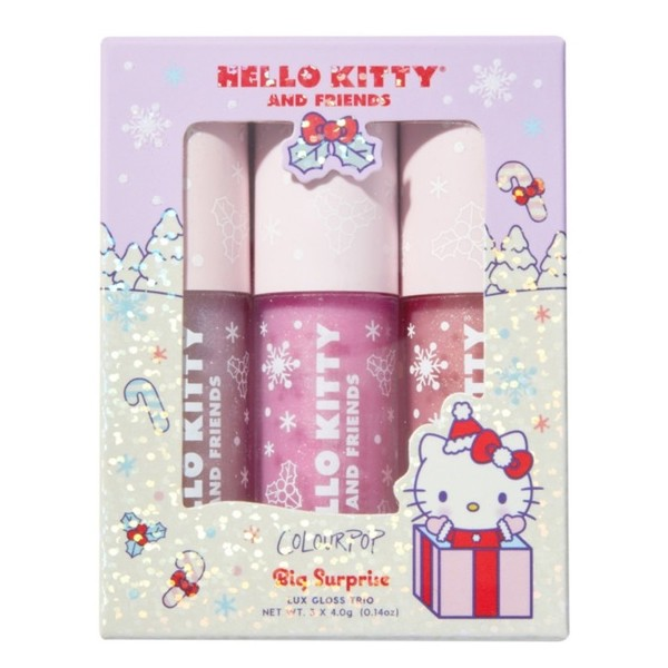 ColourPop x Hello Kitty Trio Gloss Big Surprise