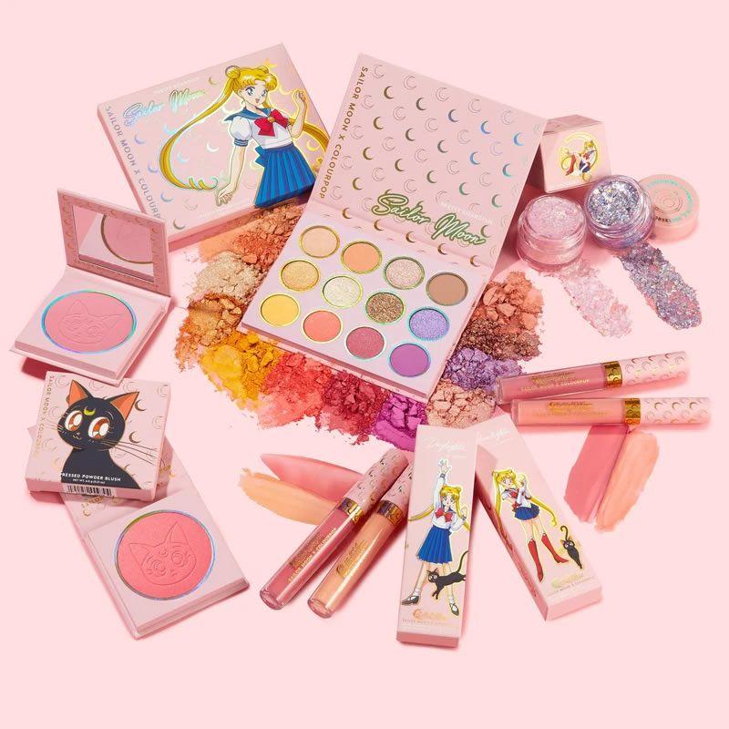 ColourPop x Sailor Moon Coleção Completa