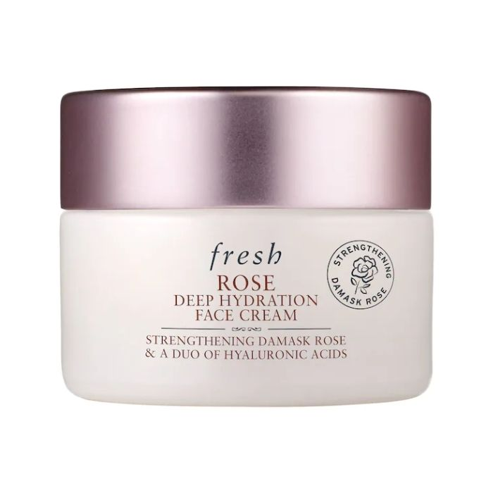 Fresh Hidratante Facial Mini Rose & Hyaluronic Acid Deep Hydration Face Cream  - 15 ml