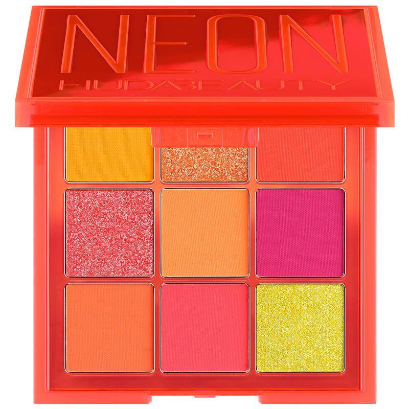 Huda Beauty Paleta de Sombras Neon Orange Obsessions