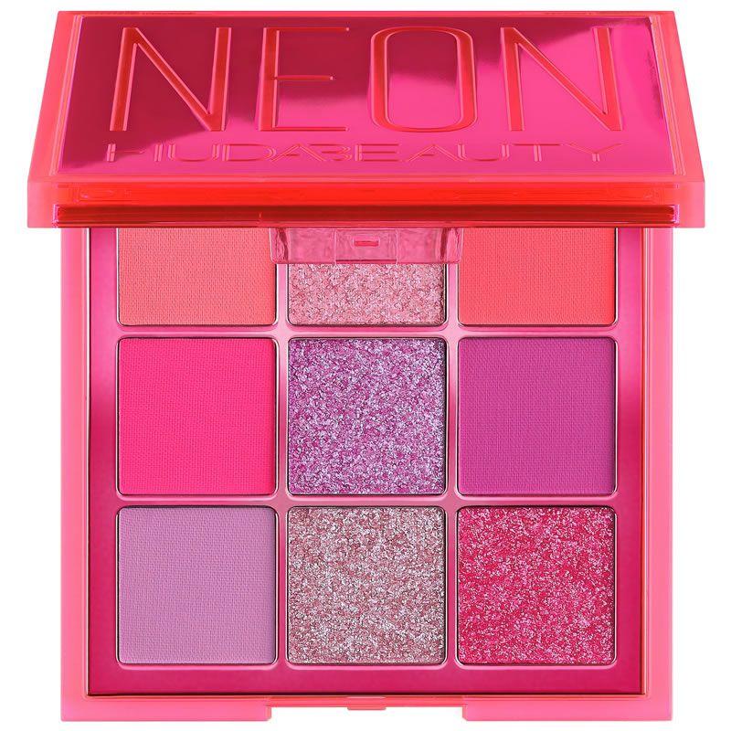 Huda Beauty Paleta de Sombras Neon Pink Obsessions