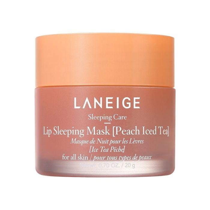 Laneige Máscara Labial Sleeping Mask Peach Iced Tea - 20 gramas