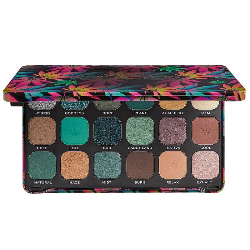 Makeup Revolution Paleta de Sombras Forever Flawless Chilled Palette