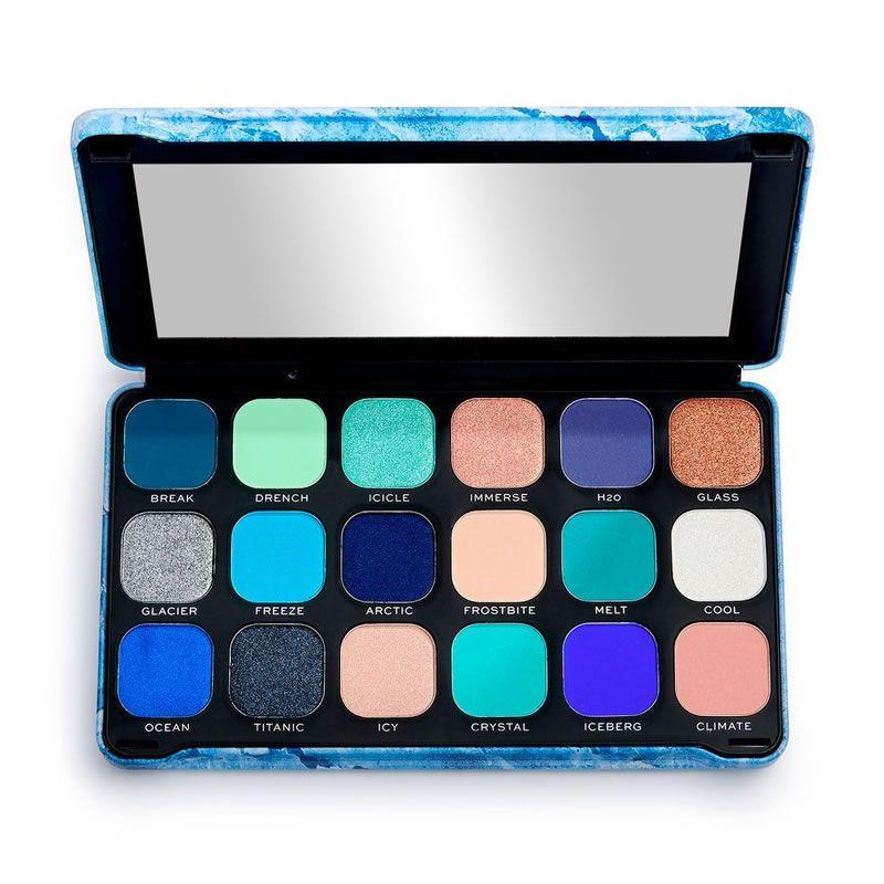 Makeup Revolution Paleta de Sombras Forever Flawless Ice Eyeshadow Palette