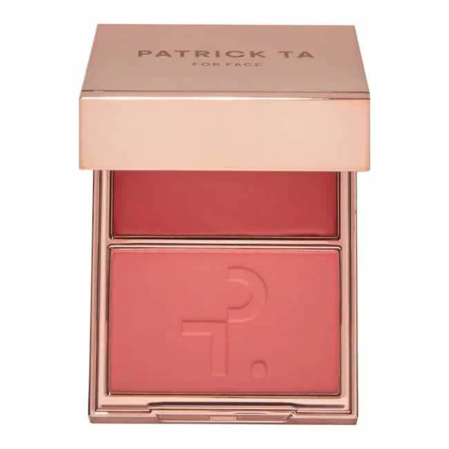 Patrick Ta Major Headlines Double-Take Crème & Powder Blush- Oh She´s Different