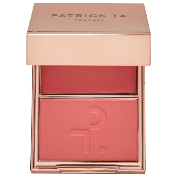 Patrick Ta Major Headlines Double-Take Crème & Powder Blush- She´s That Girl