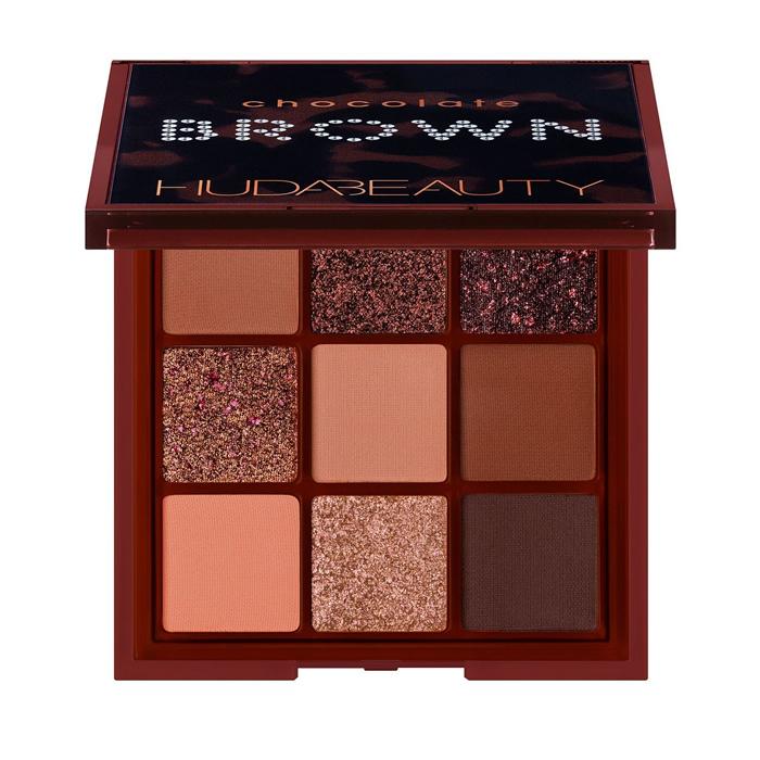 Pré-Venda Huda Beauty Paleta de Sombras Brown Obsessions Eyeshadow Palettes