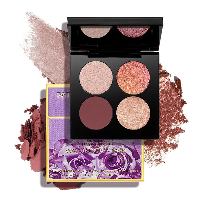 Pré-Venda Pat Mcgrath Quad de Sombras Venus in Fleurs Luxe Eyeshadow Palette: Voyeuristic Vixen