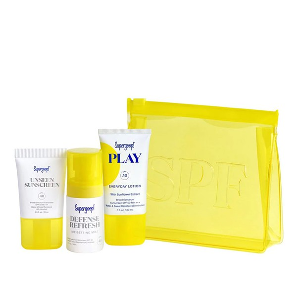 Supergoop! Mini Kit Jet Set SPF Travel Kit