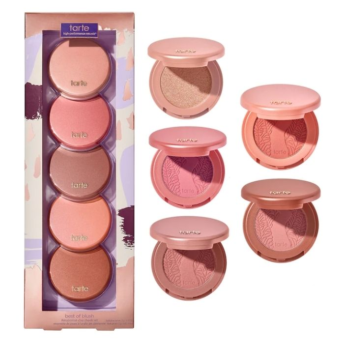 Pré-Venda Tarte Best Of Blush Mini Amazonian Clay Cheek Set