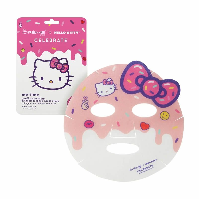 The Crème Shop x Hello Kitty Máscara Facial Me Time! Youth-Promoting Sheet Mask