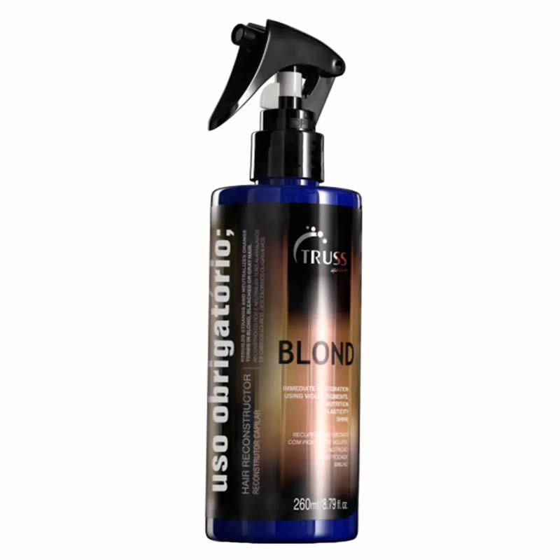Truss Uso Obrigatório Blond Reconstrutor Capilar - 260ml
