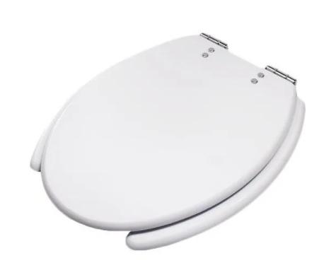 Assento  Acesso Confort Branco COM ABERTURA FRONTAL -  em poliester. Para Deficiente, Cadeirante ou Idoso.