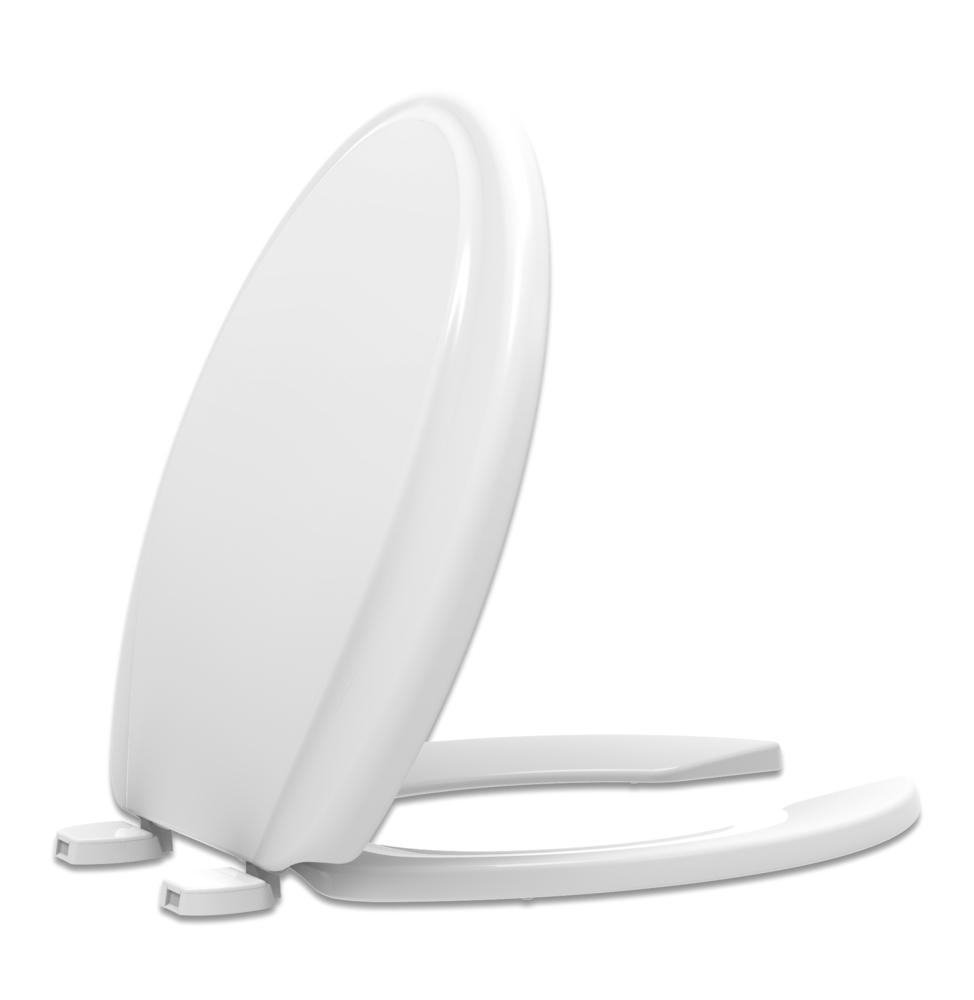 Assento  Acesso Confort Duraguard Branco - Tupan  COM ABERTURA FRONTAL - Polipropileno. Para Deficiente, Cadeirante ou Idoso.