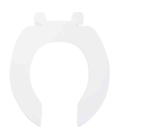 Assento Acesso   Duraguard. Polipropileno - Com Abertura Frontal e Sem Tampa Para Bacia Celite / Incepa Acesso Confort