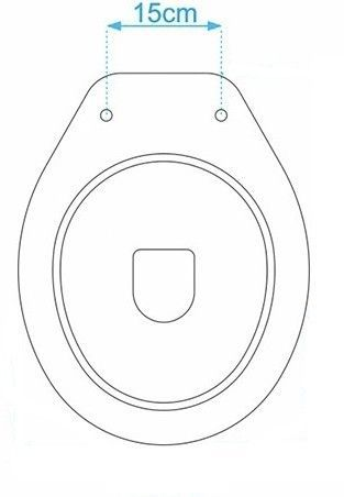 Assento Almofadado Luxo - Bege Claro para louça Ravena / Oval Convencional Deca