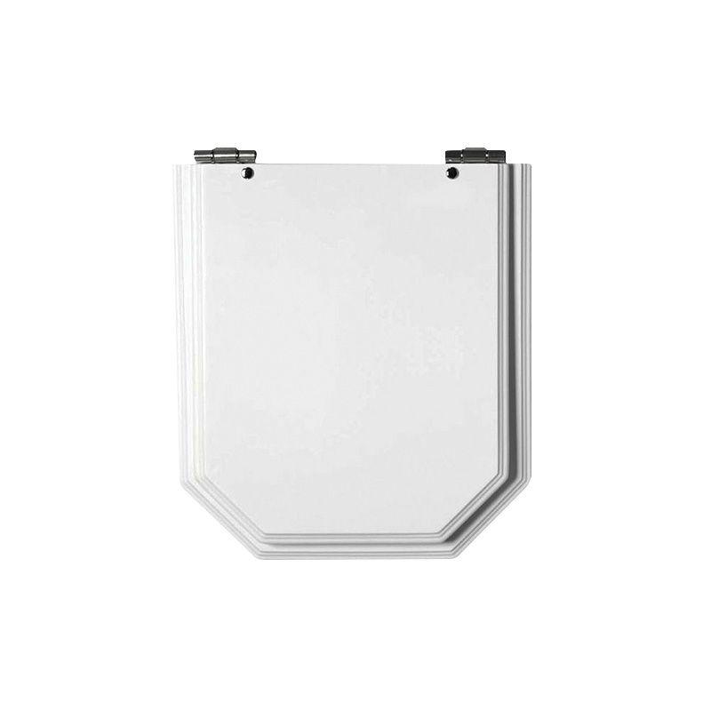 Assento  Atrium Laqueado Luxo - Branco -  para Bacia Sanitária Incepa.