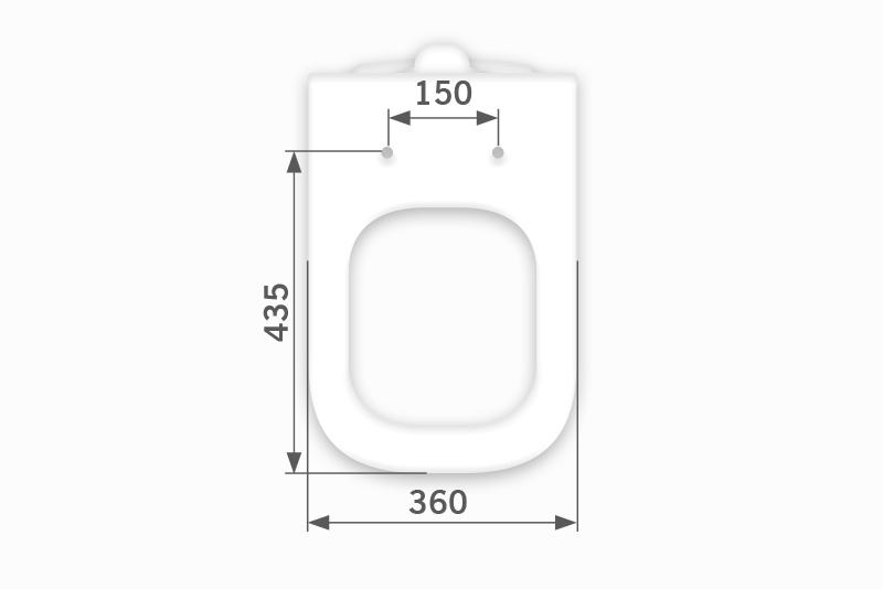 Assento Axis - Deca - Almofadado LUXO ou SUPER LUXO