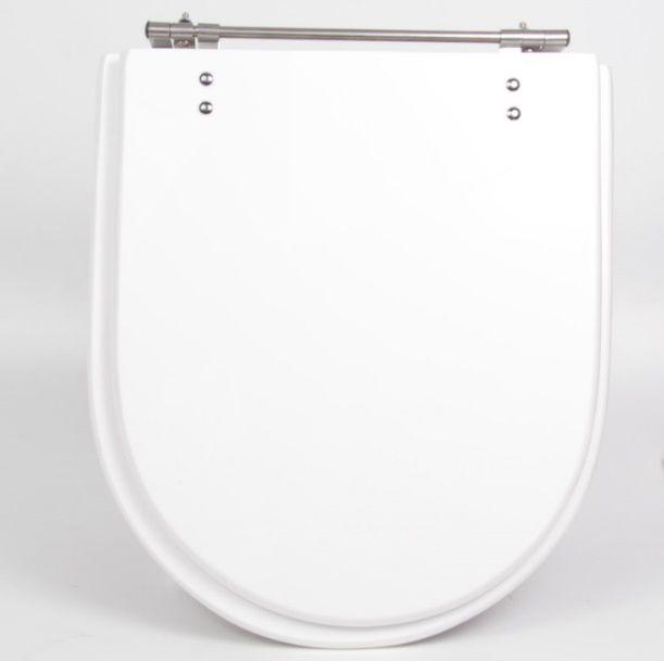 Assento Calypso Poliéster/Acrílico para Incepa; Distancia entre os parafusos de fixação: 24,5cm.