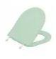 Assento Calypso Verde Claro Laqueado MDF Luxo para Incepa; Distancia: 24,5cm entre Furos.