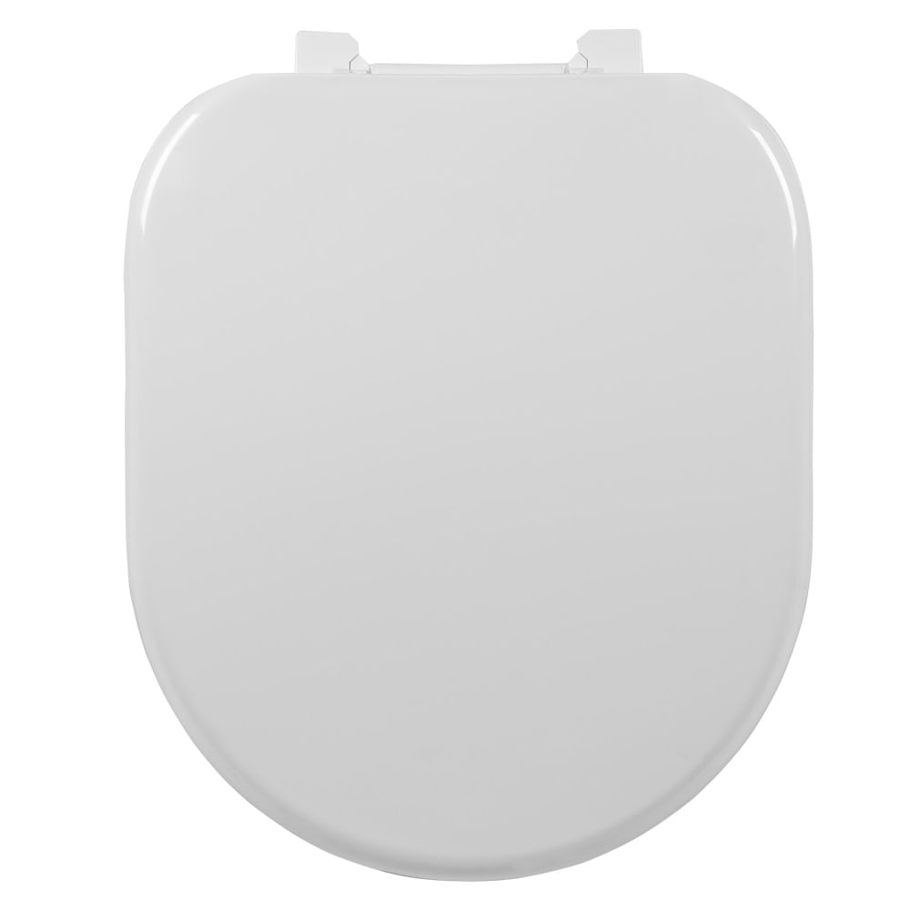 Assento Carrara Almofadado Sintético Astra; para  Louça da Deca.