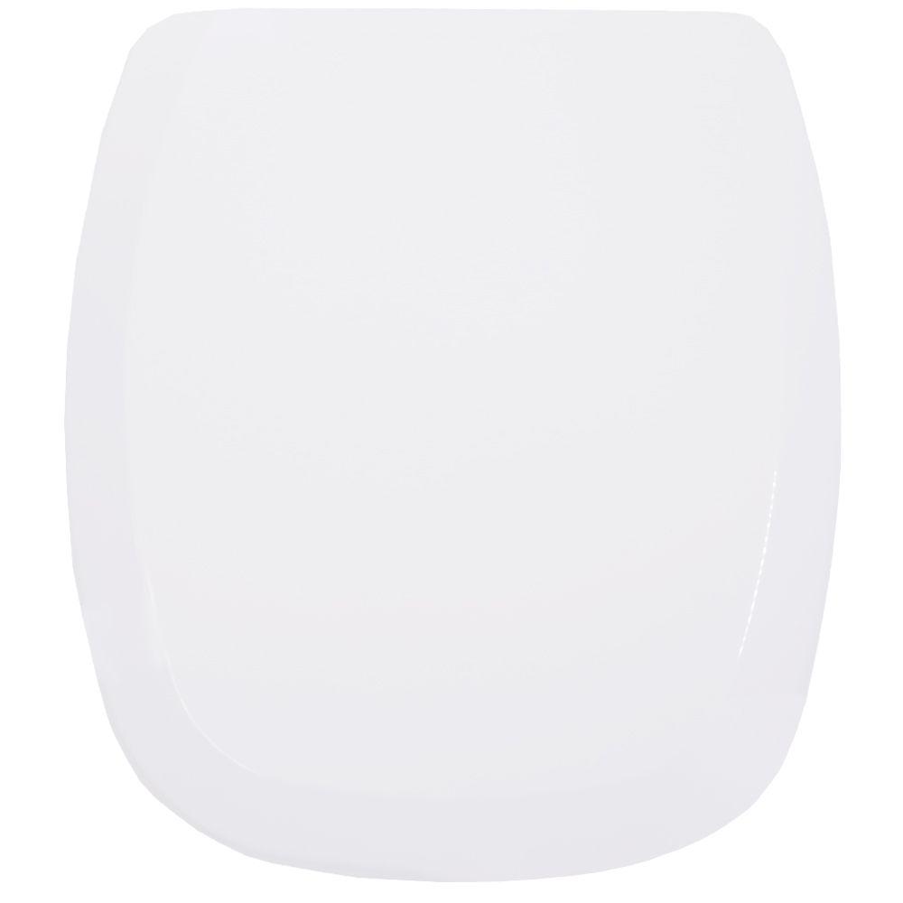 Assento  City / Like Soft-Close Branco Tupan PP Branco para Celite com Fechamento Suave