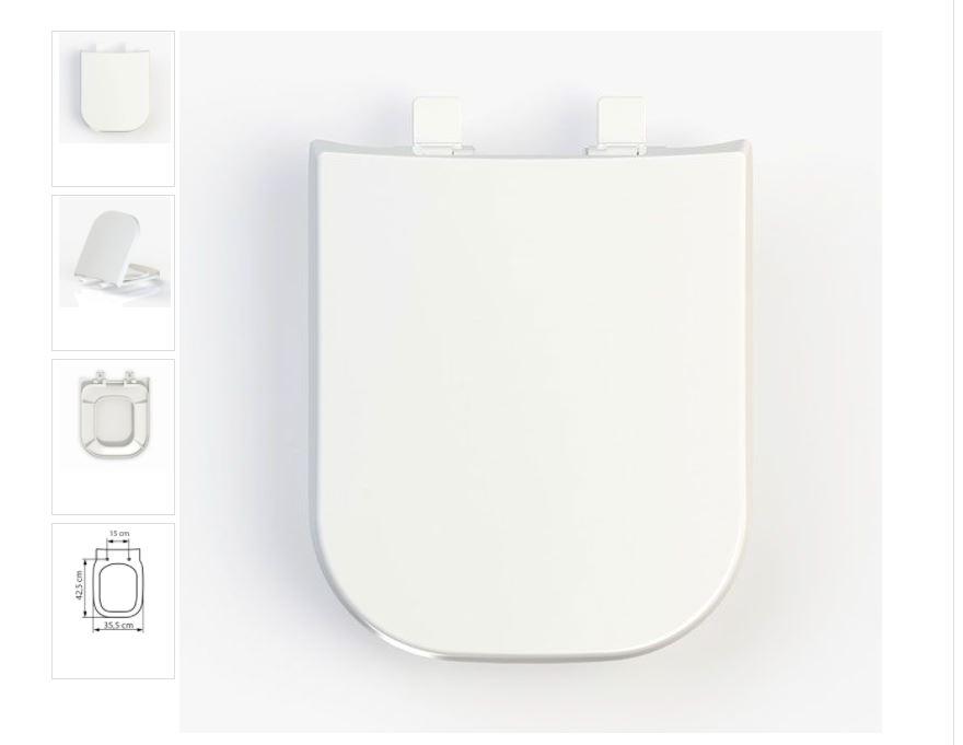 Assento DEBBA Melhor Qualidade Maior Durabilidade Tupan PP Branco
