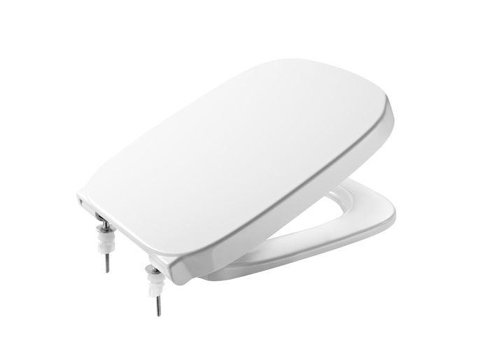 Assento DEBBA ORIGINAL ROCA Branco Termofixo com fechamento suave