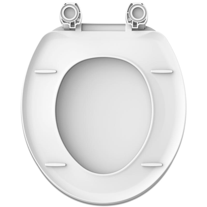 Assento Diamantina / Oval Convencional BRANCO Tupan - DURAGARD - PP -  para Louça Icasa