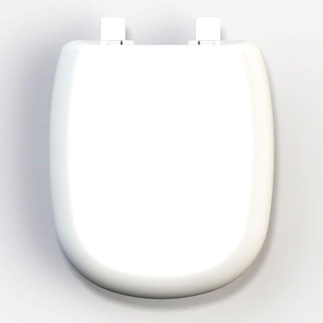 Assento Dona Beja Soft-Close Termofixo Tupan para Santa Clara com Fechamento Suave.