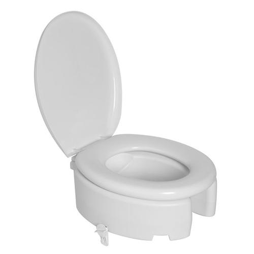 Assento Elevado Almofadado 16,5 cm, com travas laterais- para Deficiente, Cadeirante ou Idoso - para Bacia Deca Ravena