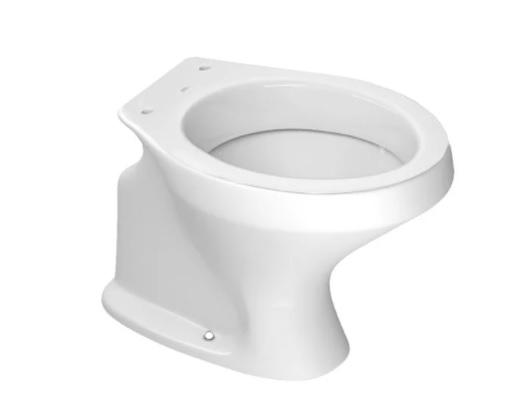 Assento Elevado Mebuki 7,5 cm -Almofadado e com tampa sem abertura frontal. Para Deficiente, Cadeirante ou Idoso - para Bacia Deca Ravena