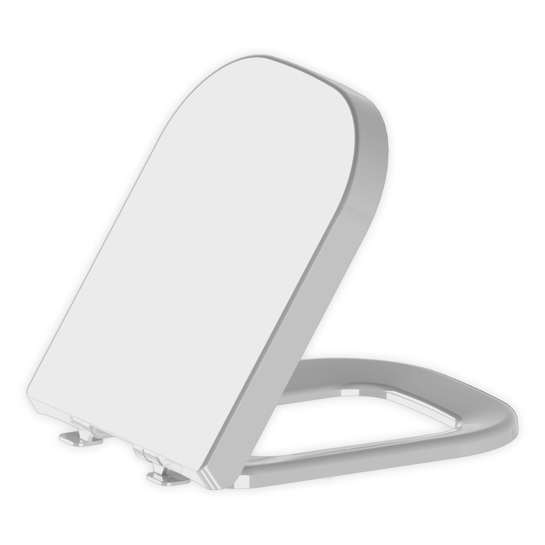 Assento Elite Branco com Fechamento  Suave SOFT CLOSE ou SLOW CLOSE Termofixo para Louça Celite.