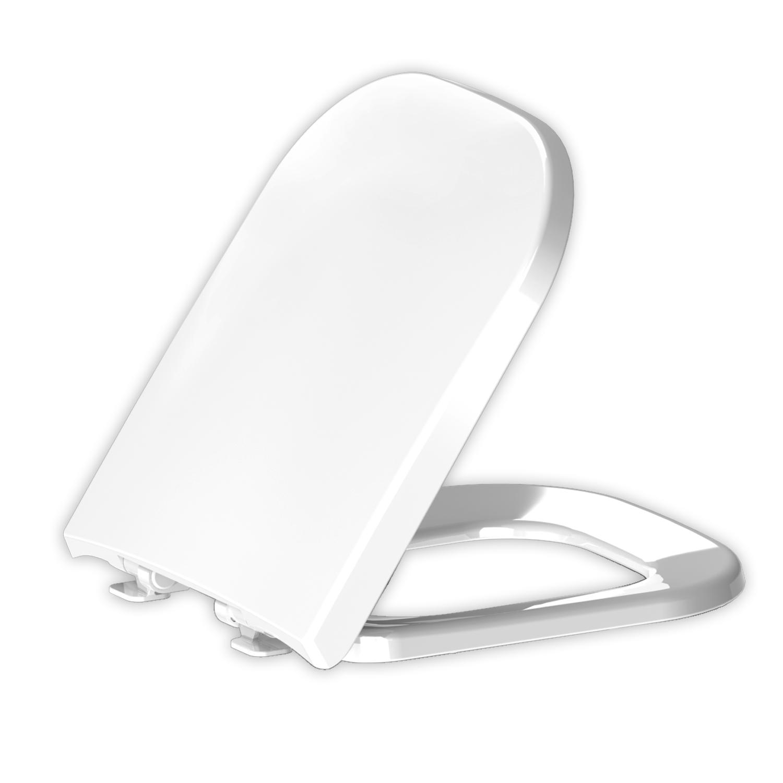 Assento Elite Branco Soft-Close Tupan PP para Celite com Fechamento Suave