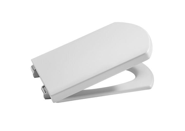 Assento HALL ORIGINAL ROCA Branco Termofixo com fechamento suave