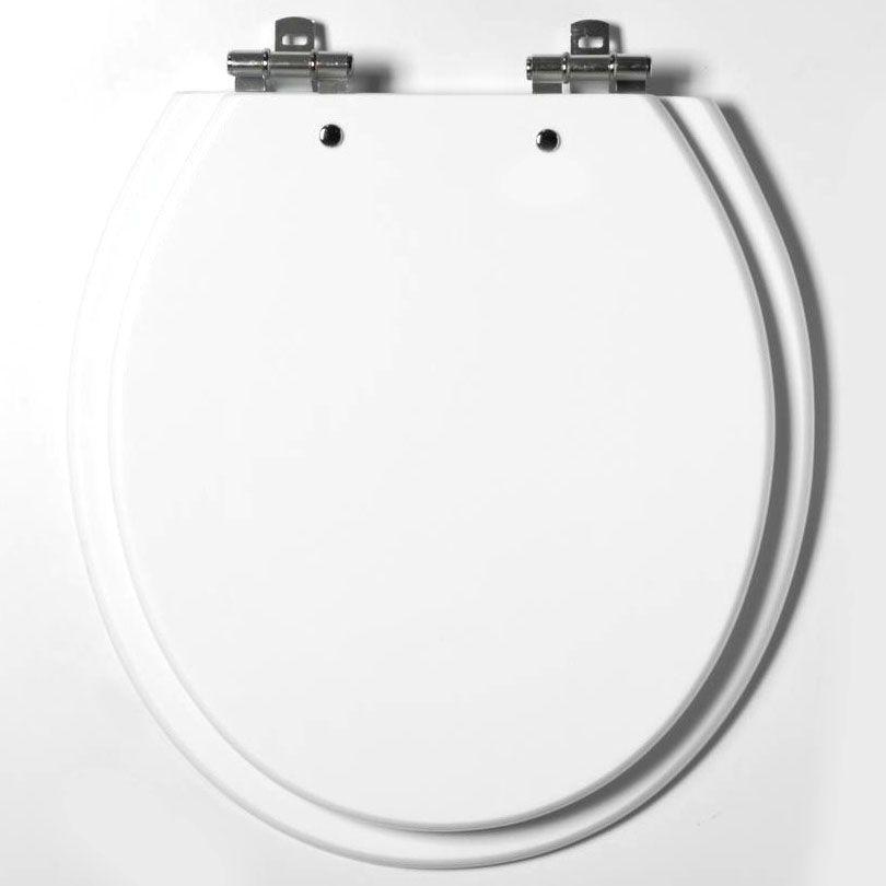 Assento Laqueado Alina / Aries / Oval Convencional para Eternit