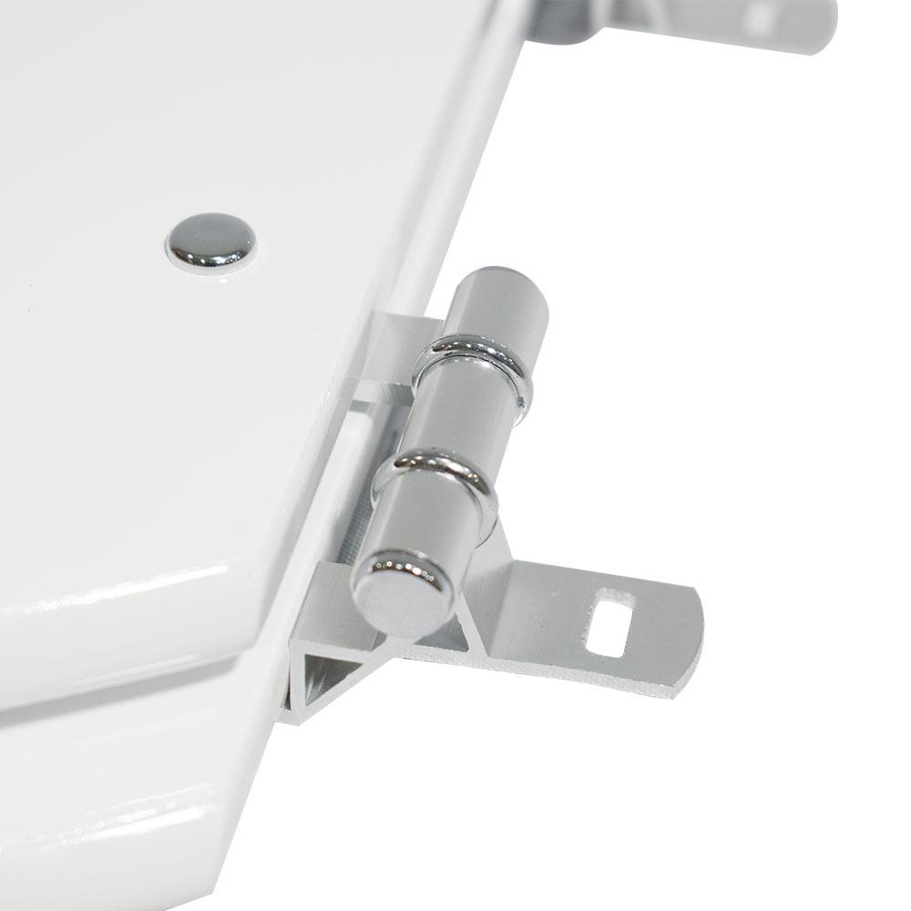 Assento Laqueado Lírio / Oval Convencional Plus para Celite.