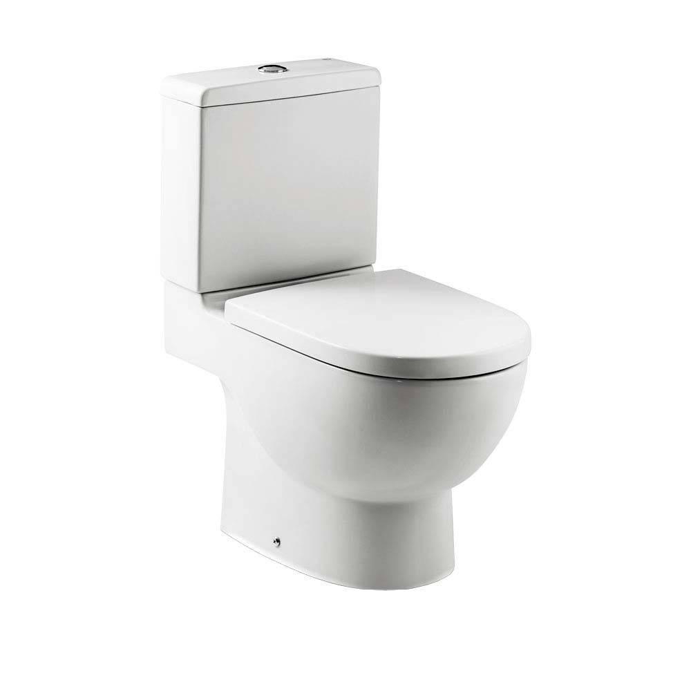 Assento MERIDIAN - N  ORIGINAL ROCA Branco Termofixo com fechamento suave