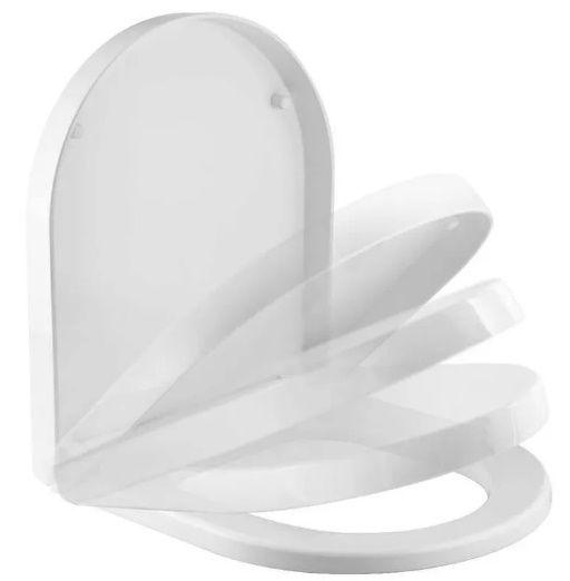 Assento MERIDIAN PLUS ORIGINAL ROCA Branco Termofixo com fechamento suave