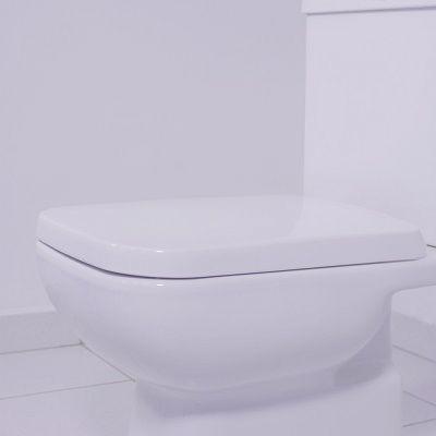 Assento Misti Soft-Close Tupan PP Branco para Louça Icasa com Fechamento Suave
