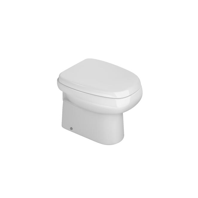 Assento Monte Carlo Branco - AP816.17  - DECA  com Fechamento Suave SOFT CLOSE ou SLOW CLOSE  para Louça Deca. ORIGINAL DECA